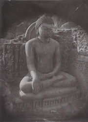 Statue of Buddha at Kauwa Dol Hill. 100378a